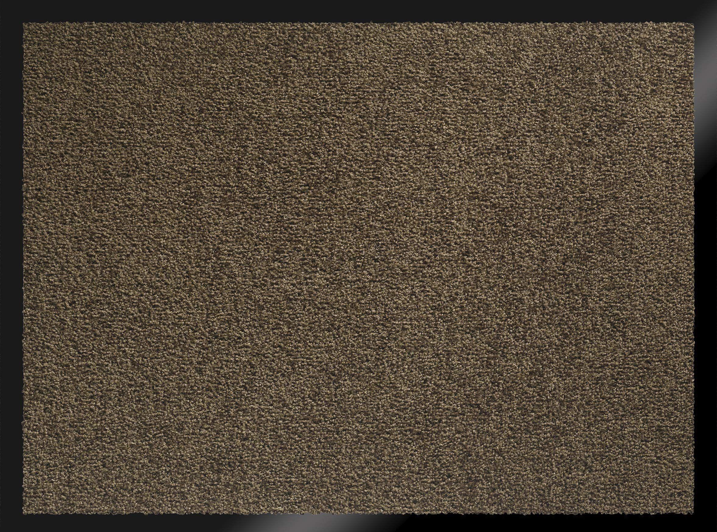 ID Matte 608005 Mirande wycieraczka włókno nylonowe/guma PCW 80 x 60 cm), brązowa, 60 x 80 cm