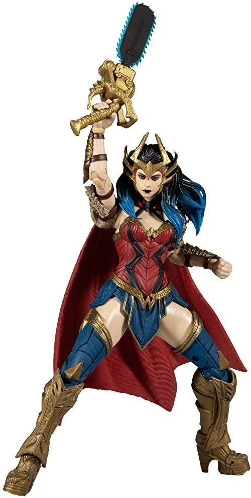 McFarlane - DC Build-A 7In Figures Wave 4 - Death Metal - Wonder Woman