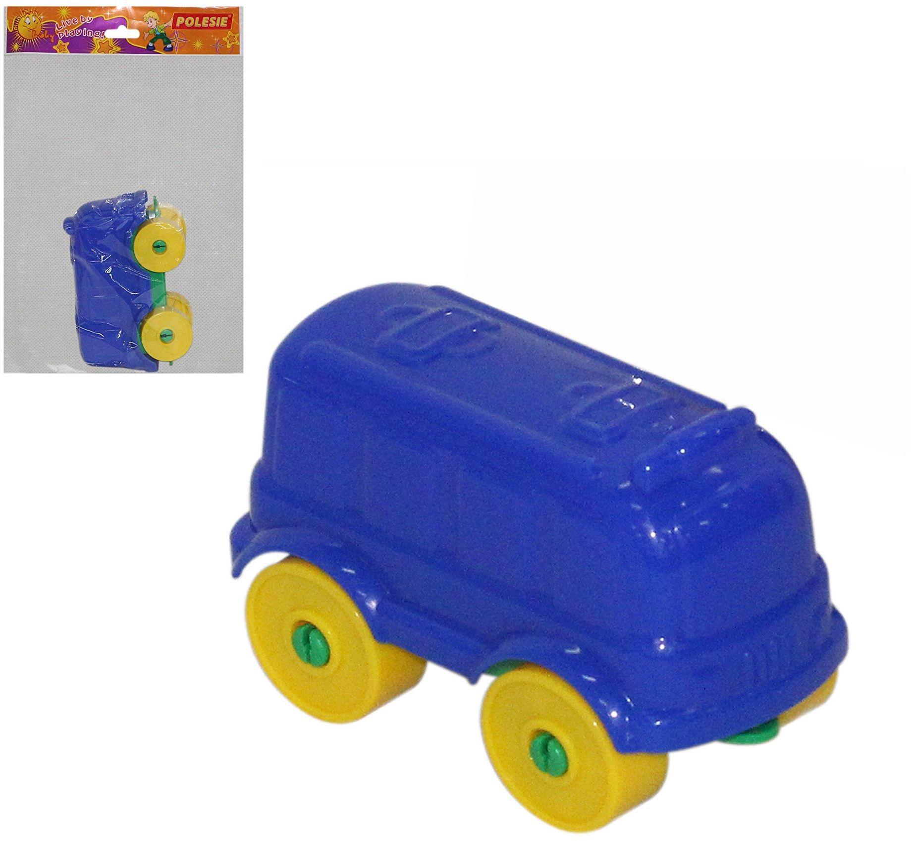 Polesie Polesie55309 zestaw zabawek dla młodych podróżników  6 sztuk, wielokolorowe