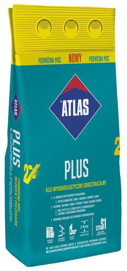 Zaprawa klejowa PLUS 5 KG ATLAS