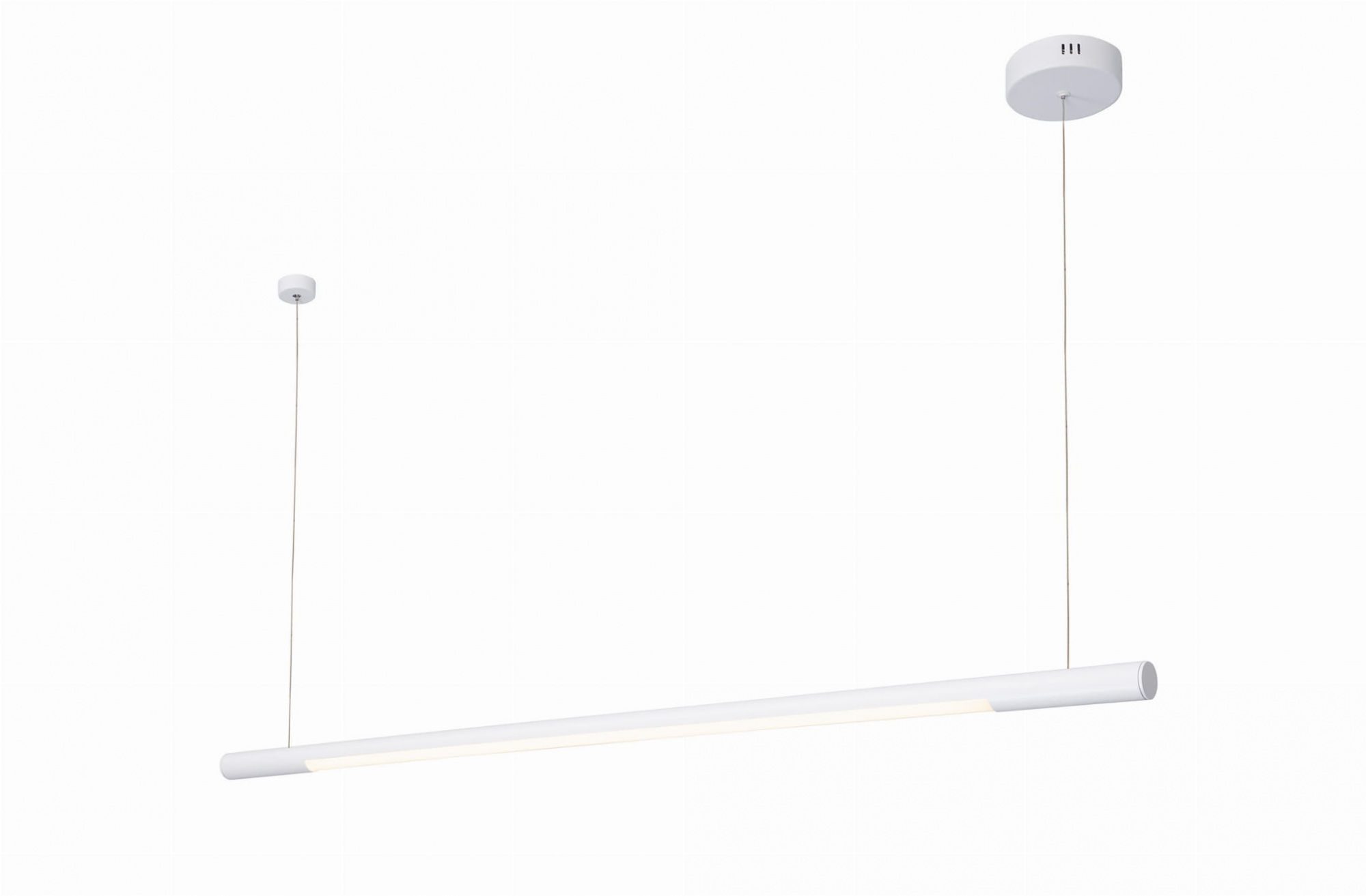 Lampa wisząca Organic Horizon P0361 Maxlight pojedyncza biała oprawa sufitowa