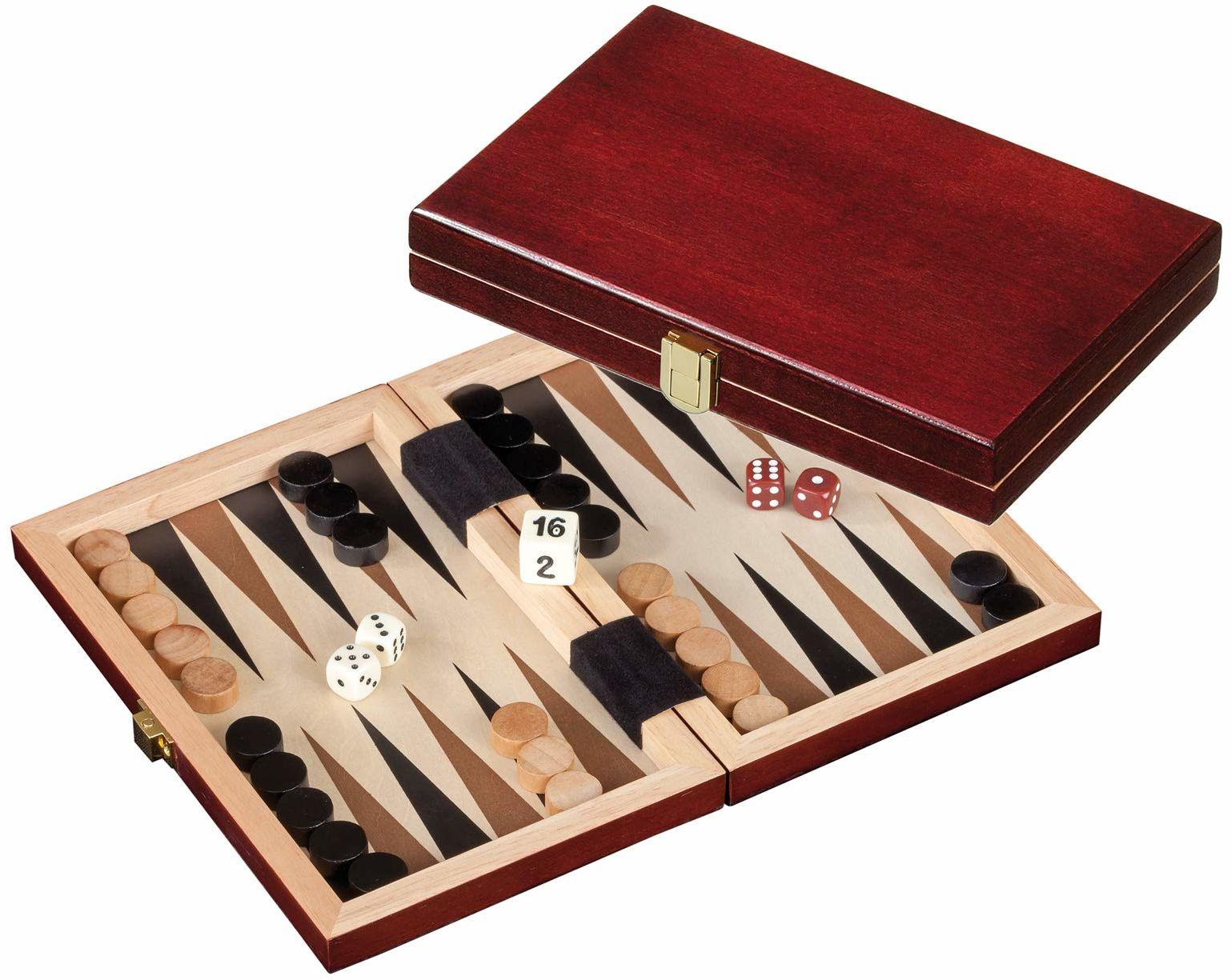 Philos 1100  Backgammon Saloniki, mini, gra podróżna
