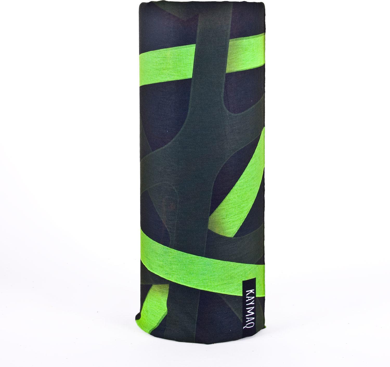 KAYMAQ GREEN LINES chusta wielofunkcyjna,5907443960555