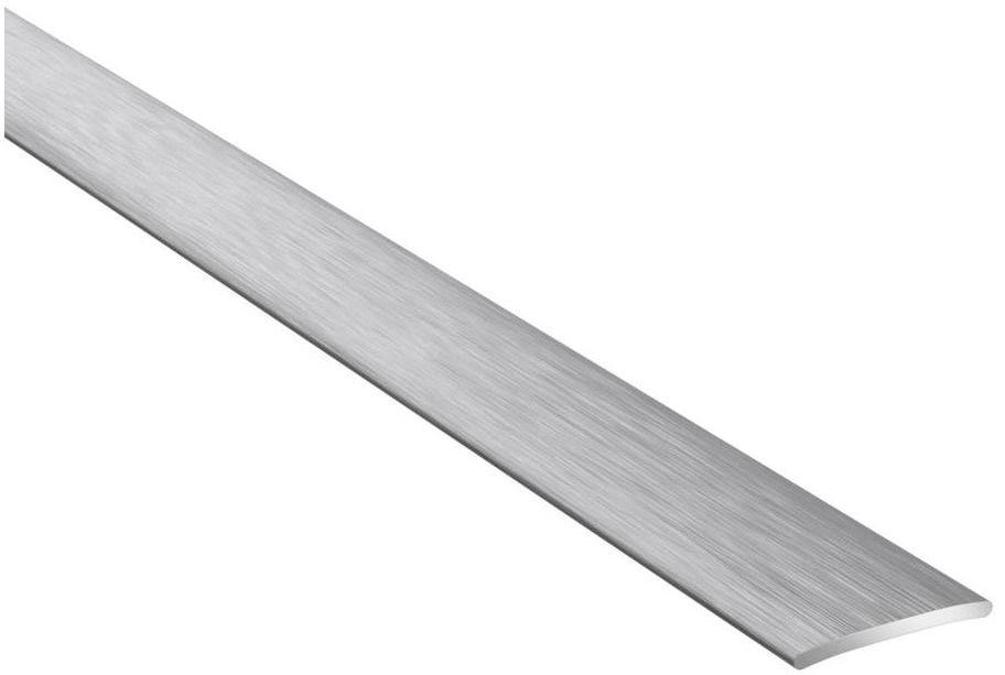 Profil podłogowy dylatacyjny No.37 Srebro szczotkowane 20 x 1860 mm ARTENS