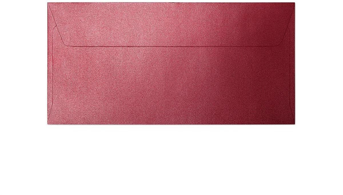 Koperta Pearl czerwony DL 10 sztuk w opakowaniu Argo 280117 Rabaty Porady Hurt Autoryzowana