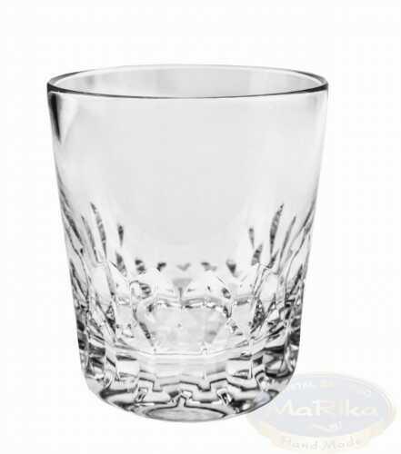 Kryształowe szklanki do whisky 280ml Pestka 6 sztuk
