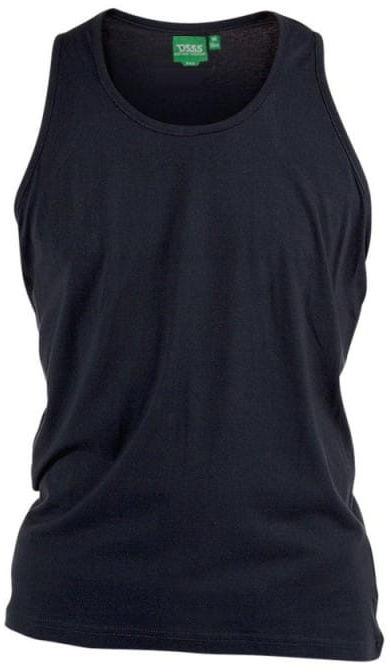 FABIO-D555 Koszulka Męska Czarna Duże Rozmiary
