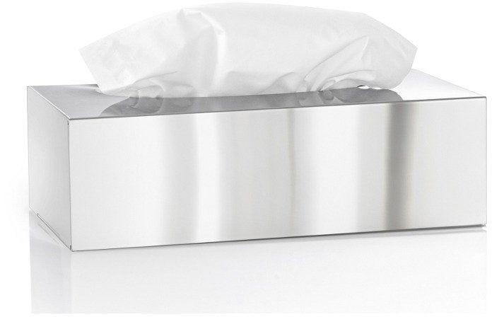 Blomus - pojemnik na chusteczki - nexio polerowany - srebrny