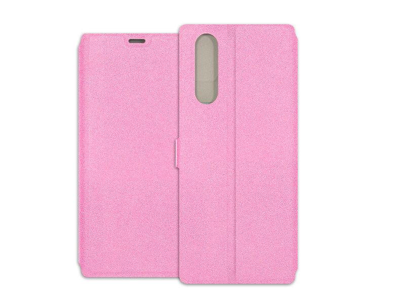 Sony Xperia 5 - etui na telefon Wallet Book - różowy