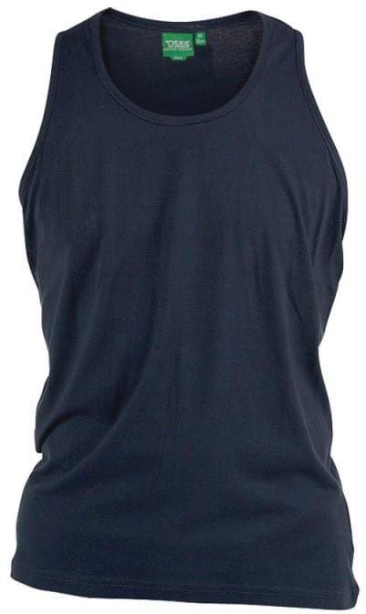 FABIO-D555 Duża Koszulka Granatowa
