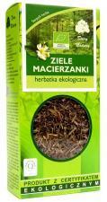 Herbatka ZIELE MACIERZANKI BIO 25g Dary Natury