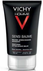 Vichy Homme Sensi Baume Kojący balsam do skóry wrażliwej 75ml l + [ G R A T I S : 2 PRÓBKI VICHY MINERAL 89 ]
