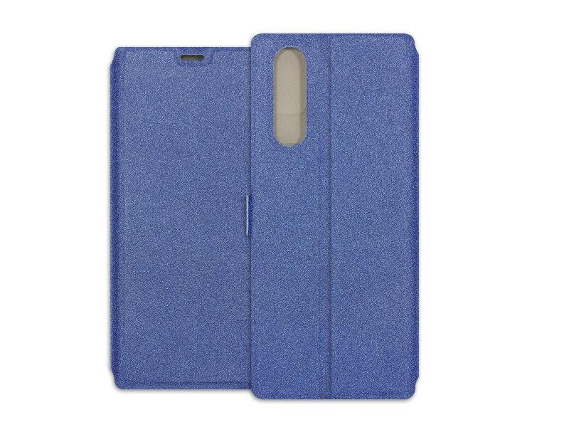Sony Xperia 5 - etui na telefon Wallet Book - granatowy