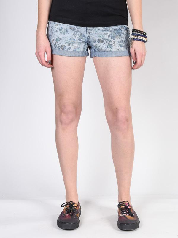 Element ETTA SKY BLUE damskie spodenki jeansowe - 30
