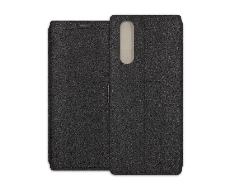 Sony Xperia 5 - etui na telefon Wallet Book - czarny