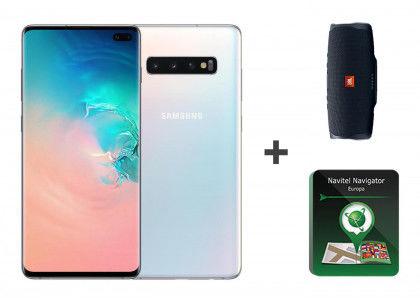 Samsung Galaxy S10 Plus G975F Dual Sim 128GB/8GB Prism White