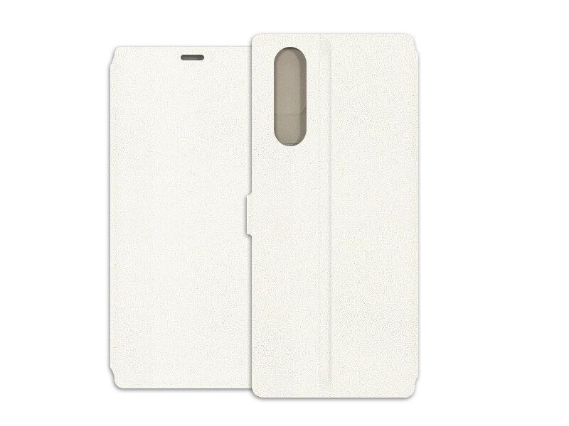 Sony Xperia 5 - etui na telefon Wallet Book - biały