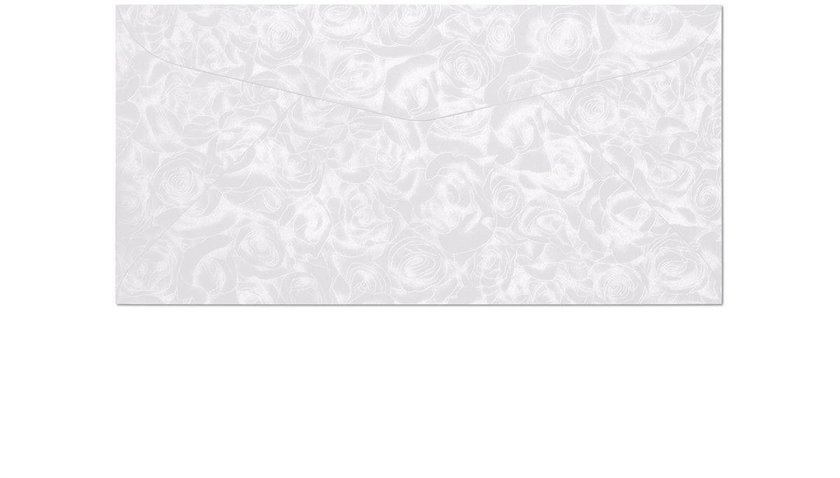 Koperta Róże biały DL 10 sztuk w opakowaniu Argo 280111 Rabaty Porady Hurt Autoryzowana