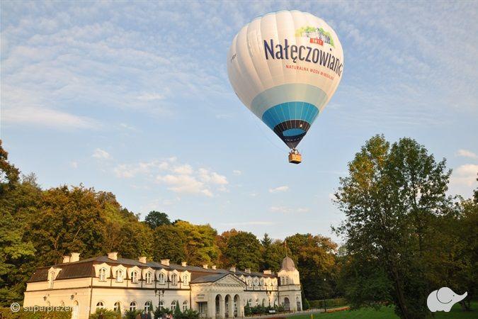 Lot balonem nad Nałęczowem
