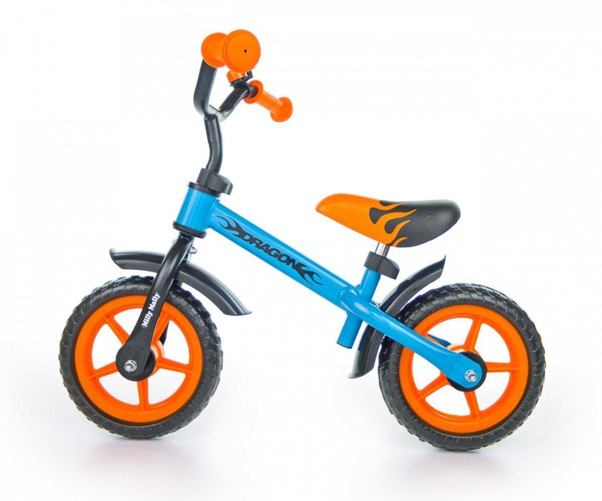 Milly Mally Rowerek Biegowy Dragon blue-orange