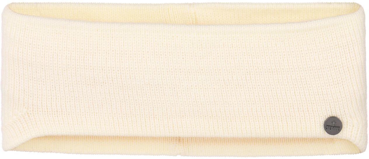 Opaska na Czoło Classic Mono by Lierys, kremowobiały, One Size