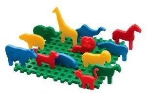 Klocki konstrukcyjne Mini Zoo