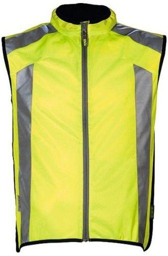 WOWOW Dark Jacket 1.1 Gilet de sécurité réfléchissant Mixte Adulte, Jaune, S kurtka z dzianiny, żółta, S