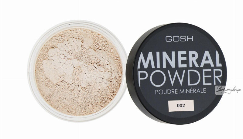 GOSH - MINERAL POWDER - Puder mineralny - sypki-002 - IVORY