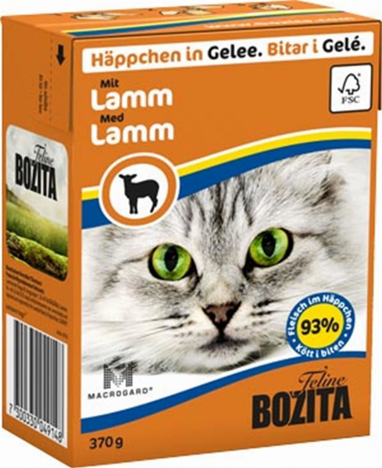Bozita Feline 370g Jagnięcina w Galaretce