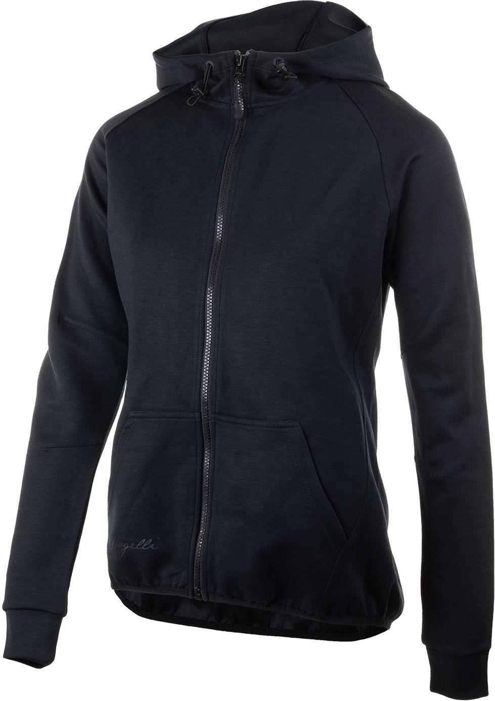 ROGELLI damska bluza z kapturem TRAINING czarna Rozmiar: XL,050.610.XL