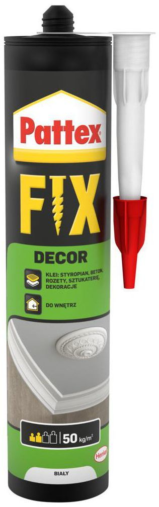 Klej do styropianu PATTEX FIX 400 g DECOR