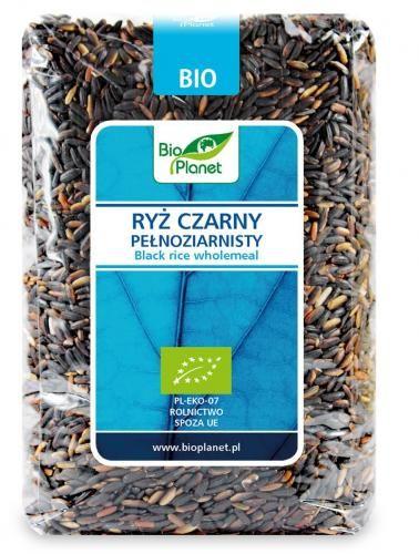 Ryż czarny pełnoziarnisty BIO 1 kg Bio Planet