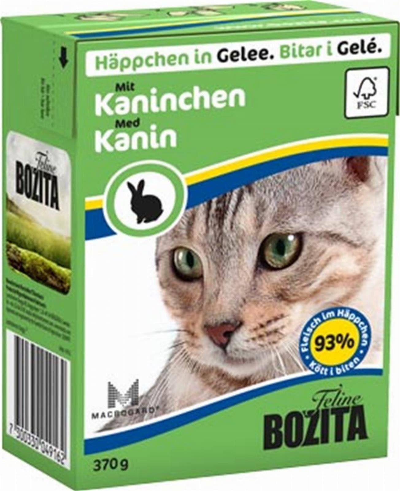 Bozita Feline 370g Królik w Galaretce