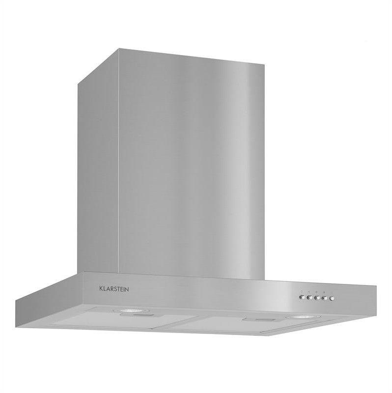 Klarstein Zarah Okap kuchenny Stal szlachetna 60cm Montaż ścienny 620 m/h LED