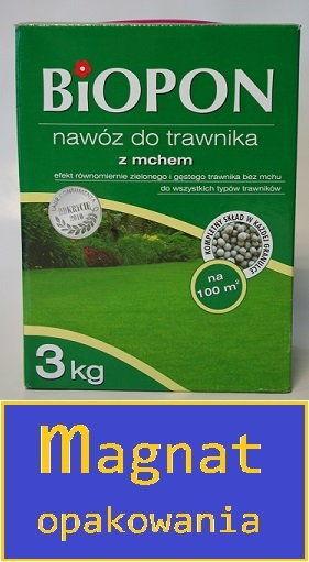 Nawóz do trawnika zachwaszczonego 1kg