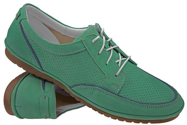 Sneakersy Półbuty damskie NIK 05-0188-002 Zielone casual