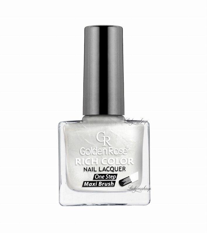 Golden Rose - RICH COLOR - Nail Lacquer - Długotrwały lakier do paznokci - 01