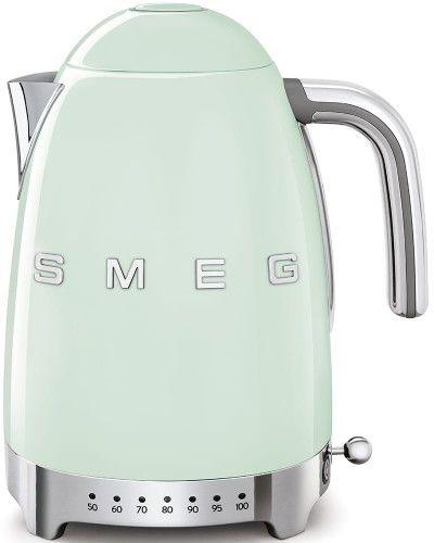 Czajnik SMEG miętowy z regulacją temperatury