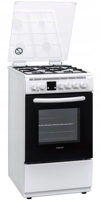 Finlux Kuchnia gazowo-elektryczna FC-562WGW