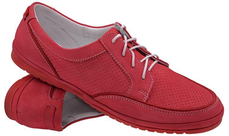 Sneakersy Półbuty NIK 05-0188-004 Amarantowe casual