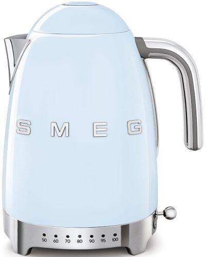 Czajnik SMEG błękitny z regulacją temperatury