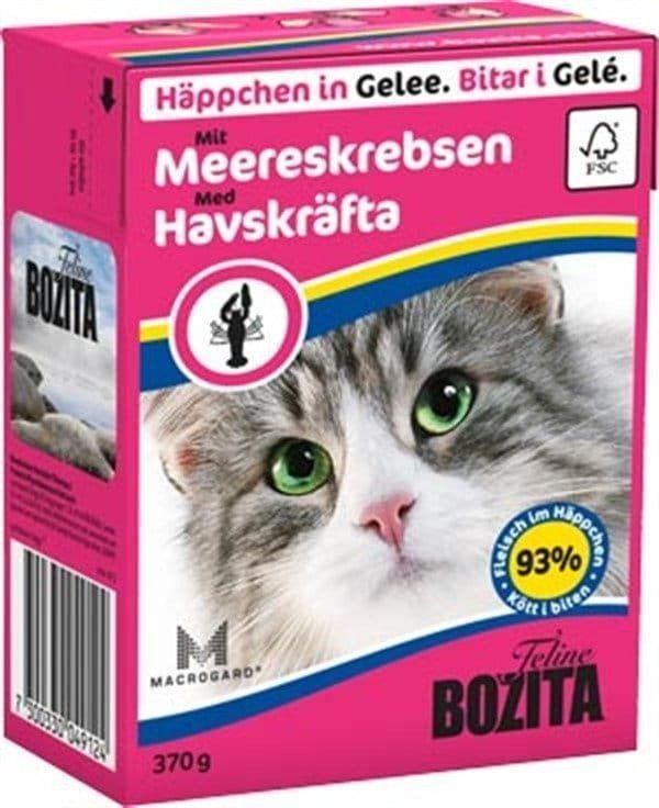 Bozita Feline 370g Raki w Galaretce