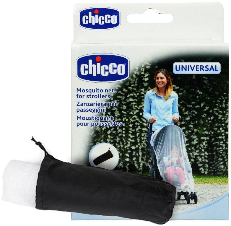 Uniwersalna moskitiera na wózek dziecięcy Chicco. Moskitiera do wózka.