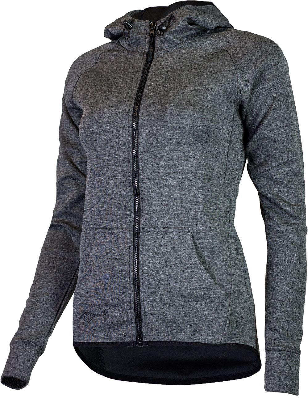 ROGELLI damska bluza z kapturem TRAINING szara Rozmiar: XS,050.609.XS