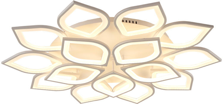 Plafon LED z pilotem 120cm 204Watt - P307