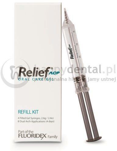 RELIEF ACP Oral Care Gel 1 strzykawka - żel znoszący nadwrażliwość zębów