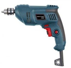 Wiertarka bezudarowa 550W uchw. klucz. 10mm L/P TUW550
