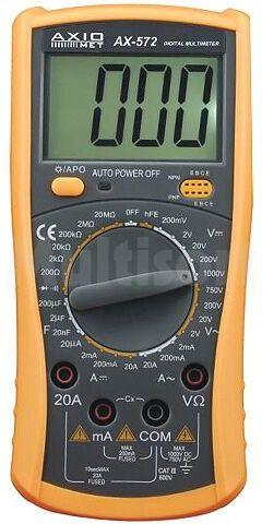 Multimetr cyfrowy AX-572 3,5 cyfry z podświetleniem
