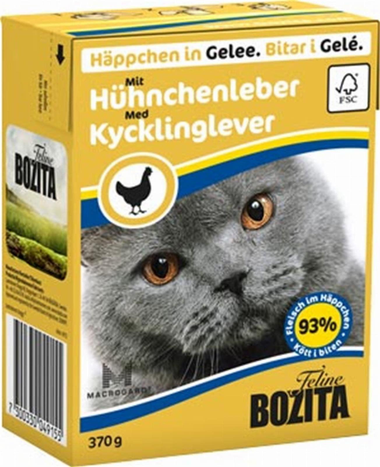 Bozita Feline 370g Wątróbka Drobiowa w Galaretce