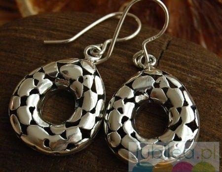 Wiano - srebrne kolczyki